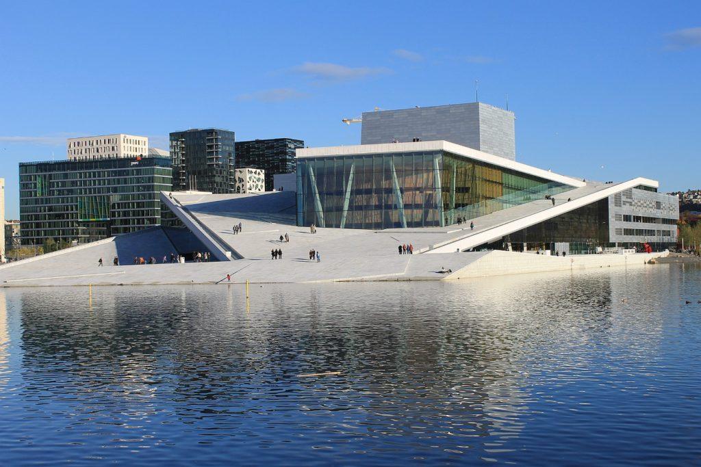 Оперный театр в Осло