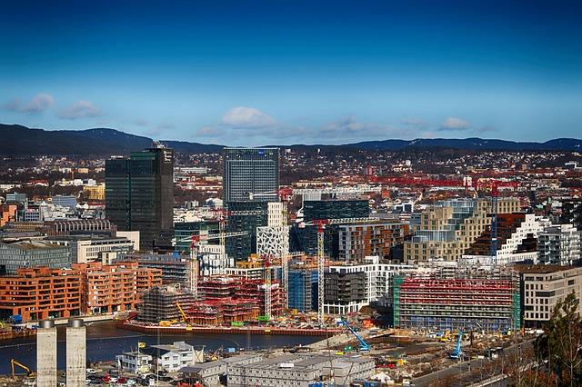 Деловой центр Осло