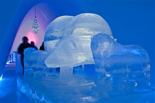 Ледяной отель в Норвегии