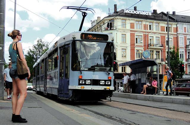 Общественный транспорт Осло