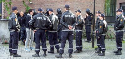Криминальная обстановка в Осло