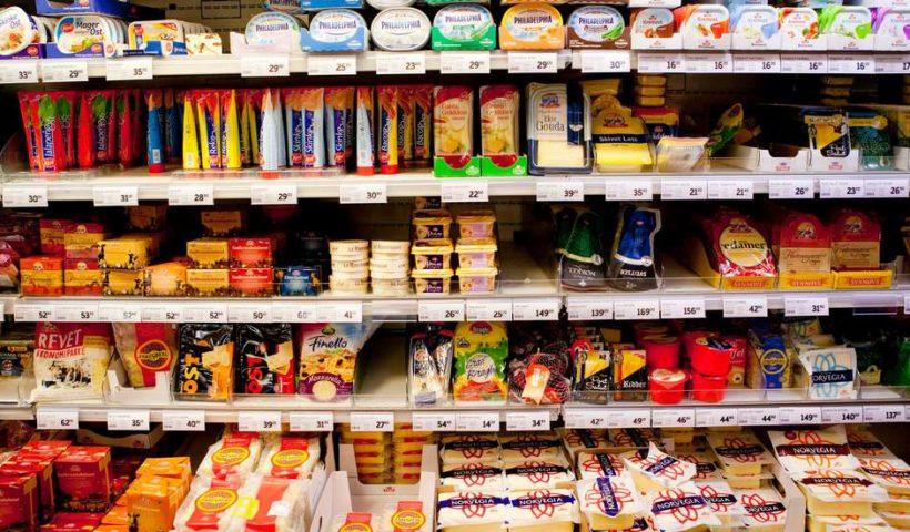 Продукты в Норвегии