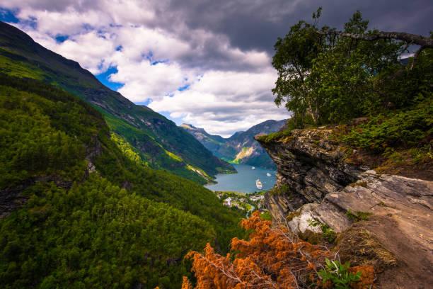 Норвегия смотровая площадка